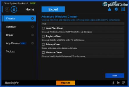 Cloud System Booster Screenshot2