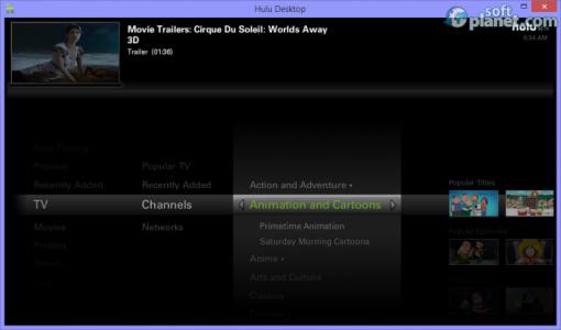 Hulu Desktop Screenshot3