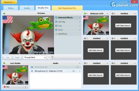 ManyCam Free Screenshot2