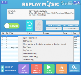 Replay Music Screenshot2