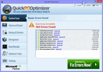 QuickPCOptimizer Screenshot3
