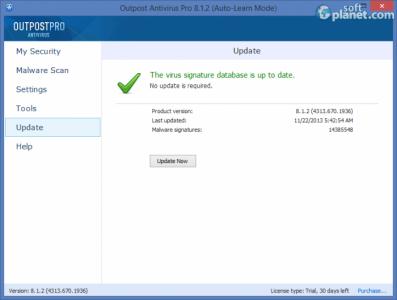 Agnitum Outpost Antivirus Pro Screenshot5