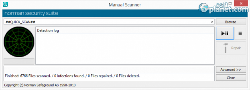 Norman Security Suite Screenshot2