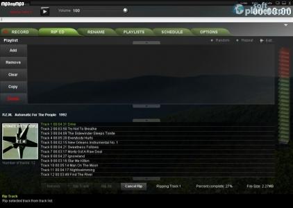 MP3 my MP3 Free Sound Recorder Screenshot2