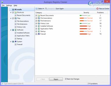 Auslogics Registry Cleaner Screenshot4