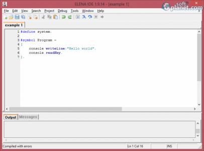 ELENA Integrated Development Environment Screenshot4
