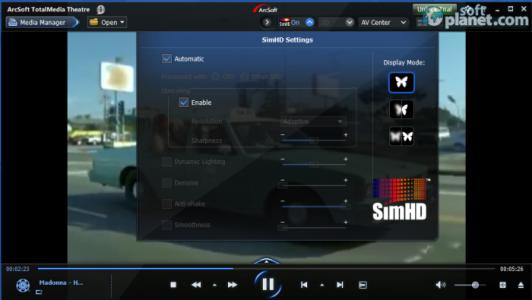 ArcSoft TotalMedia Theatre Screenshot3