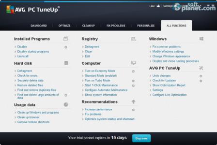 AVG PC Tuneup Screenshot5
