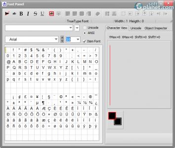 Bitmap2LCD Screenshot3