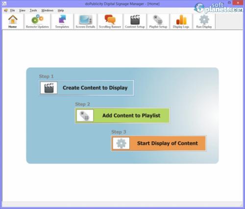 doPublicity Digital Signage Manager 4.8
