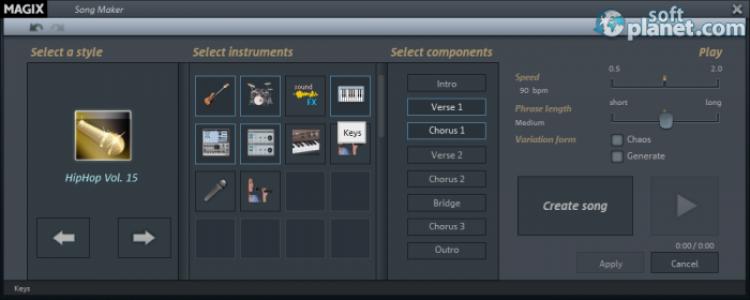 MAGIX Music Maker Screenshot2