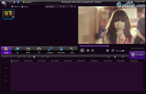 Wondershare Video Editor Screenshot3