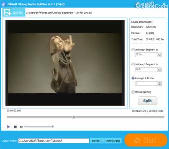 GiliSoft Video Editor Screenshot2