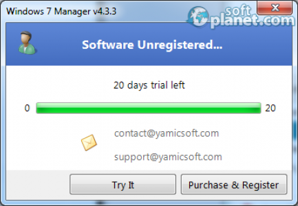 Windows 7 Manager Screenshot3