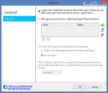 Safe AutoLogon Screenshot4
