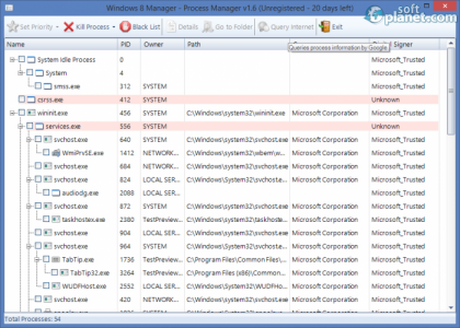 Windows 8 Manager Screenshot3