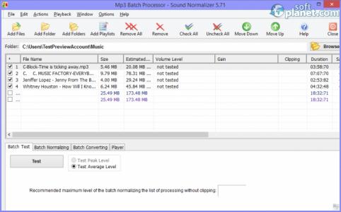 Sound Normalizer Screenshot2