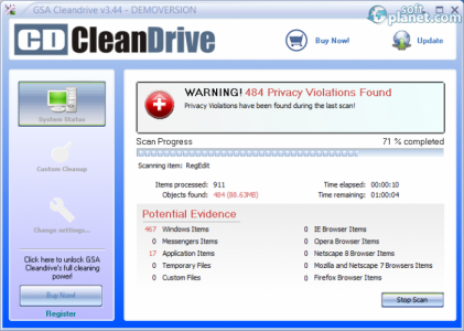 GSA Cleandrive Screenshot4