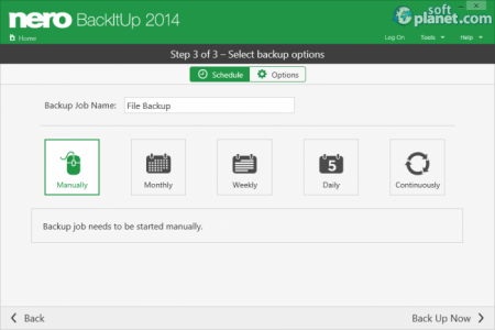 Nero BackItUp 2014 Screenshot4