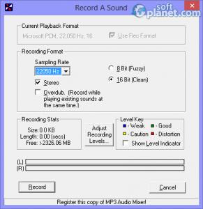 Acoustica MP3 Audio Mixer Screenshot2