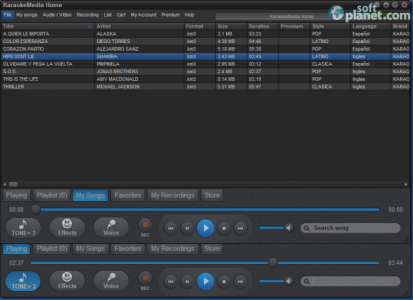 Karaokemedia Home Screenshot2