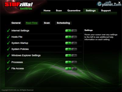 STOPzilla Antivirus Screenshot3