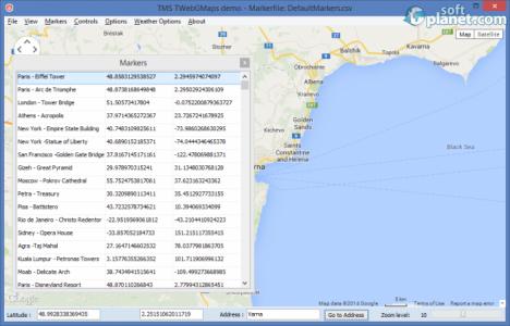 TMS WebGMaps Screenshot2