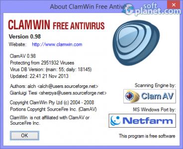 ClamWin Free Antivirus Screenshot5