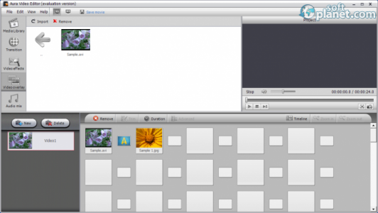 Aura Video Editor Screenshot4