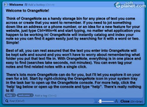 OrangeNote Screenshot2