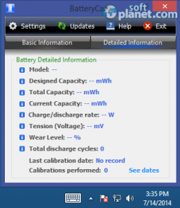 BatteryCare Screenshot2