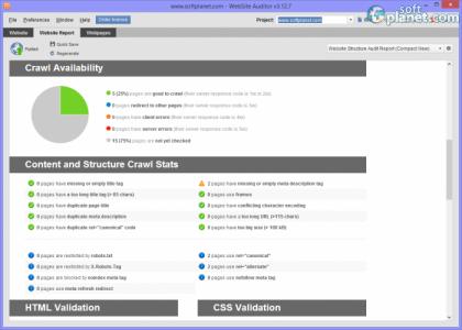 WebSite Auditor Screenshot4