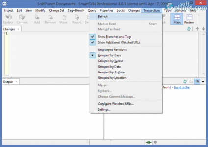 SmartSVN Screenshot4