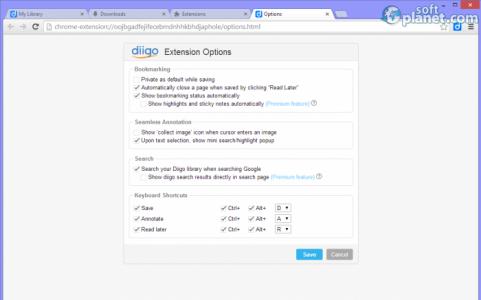 Diigo Web Collector Screenshot3