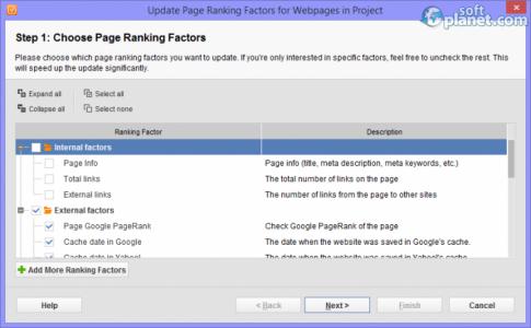 WebSite Auditor Screenshot3