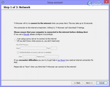 Portable TV-Browser Screenshot5