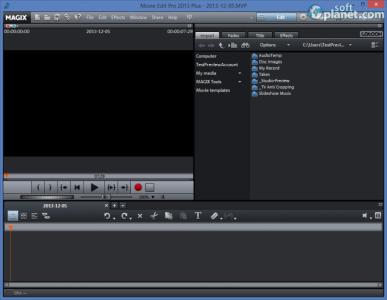 MAGIX Movie Edit Pro 2013 Plus Screenshot2
