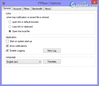FTPbox Portable Screenshot4