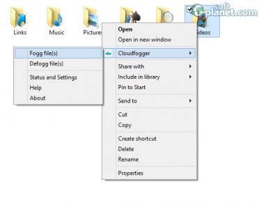 Cloudfogger Screenshot4