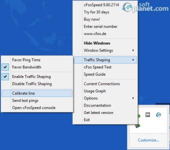 cFosSpeed Screenshot3