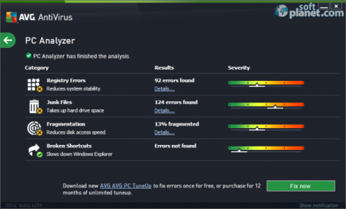 AVG AntiVirus Screenshot5