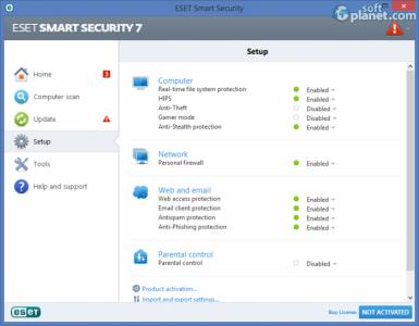 ESET Smart Security Screenshot2