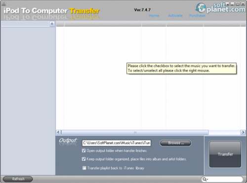 iPod To Computer Transfer Safe 7.6.7