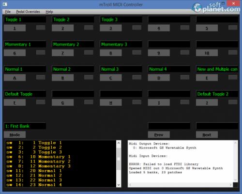 mTroll MIDI Controller 2014.03.16